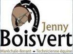 Jenny Boisvert, maréchale ferrant